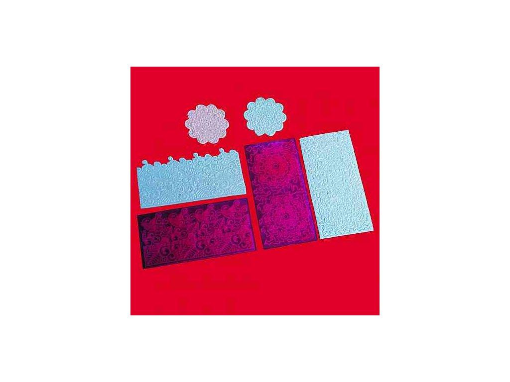 Impression Mats - Otiskovací podložky 4 - Filigree Lace