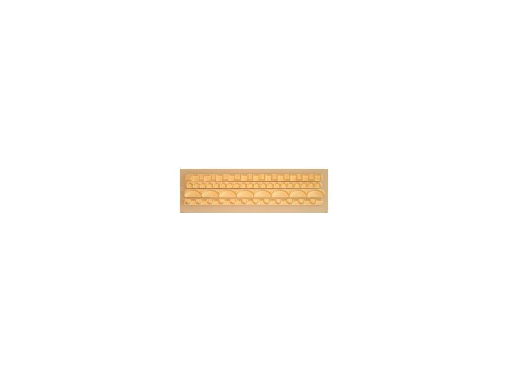 Straight Frill - Sada lišt na volánky 3