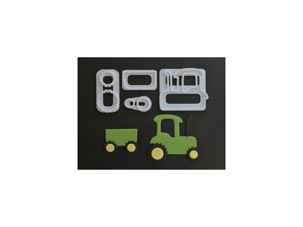 Vykrajovátko FMM - Traktor