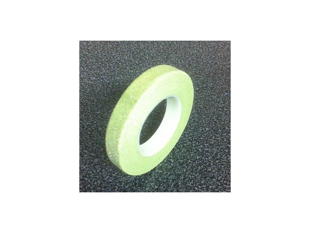 Floristická páska PME - třpytivě zelená