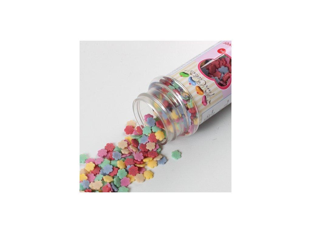 Sypání Fun Cakes - barevné kytičky