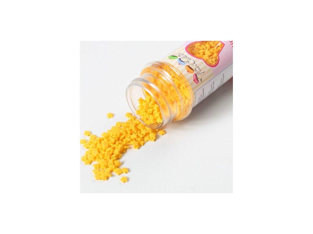 Sypání Fun Cakes - Žluté hvězdičky