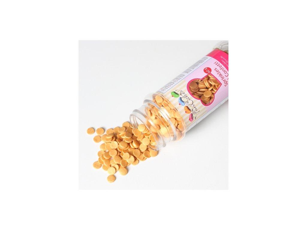 Sypání Fun Cakes - zlaté confetti