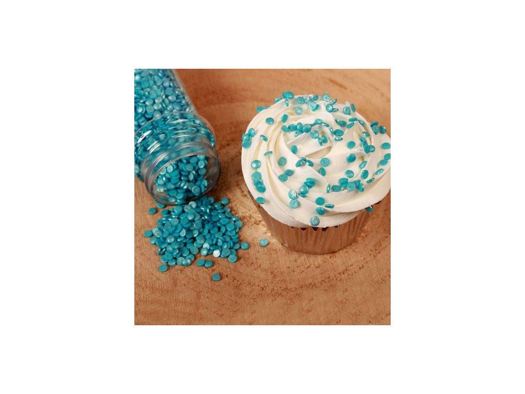 Sypání Fun Cakes - Modré Mini Confetti