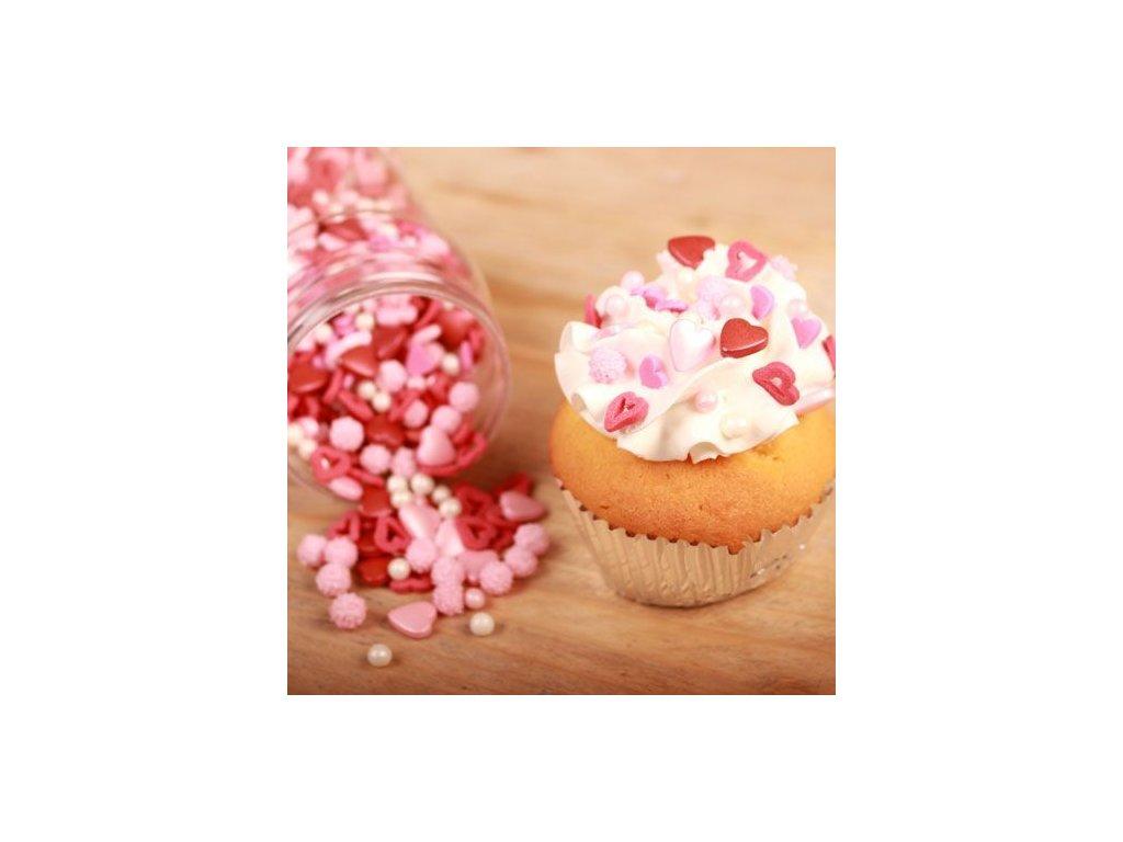 Sypání Fun Cakes - Love Medley