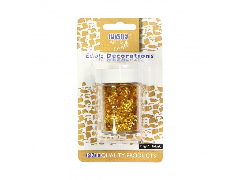 jedlé glitry zlaté