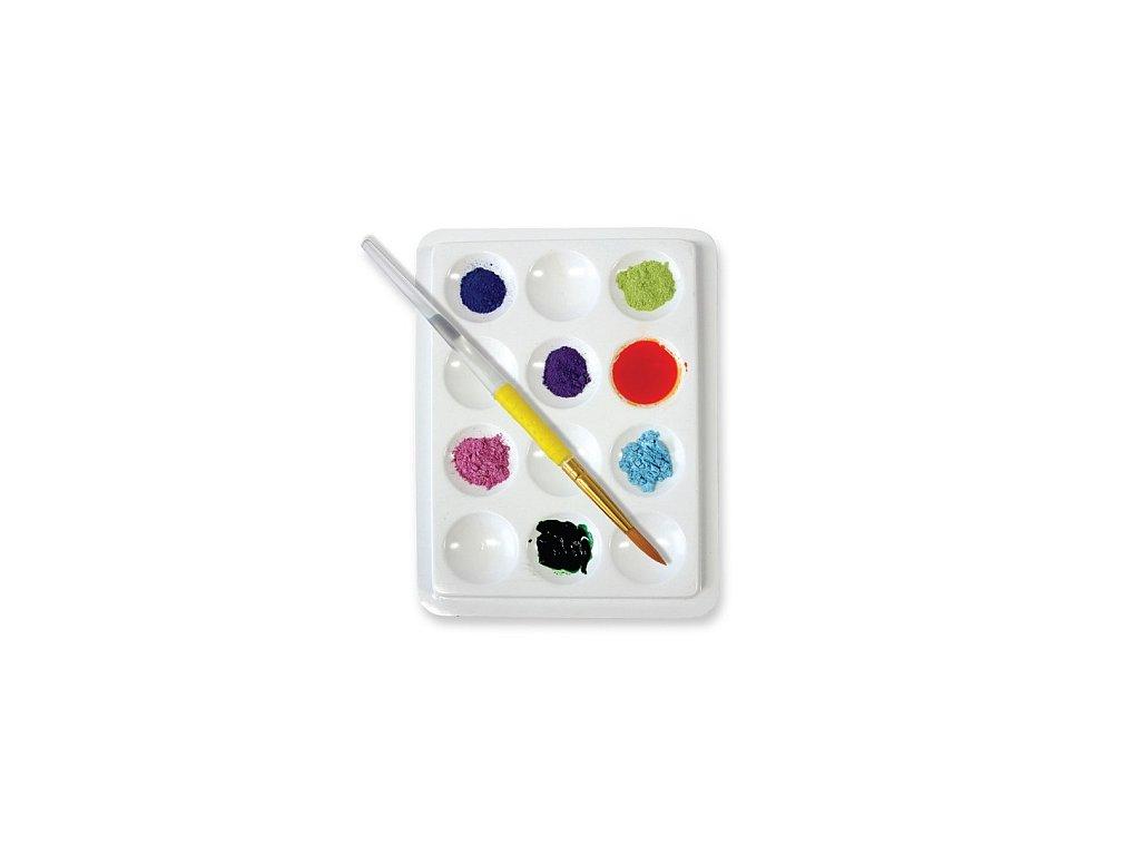 Paleta na míchání barev