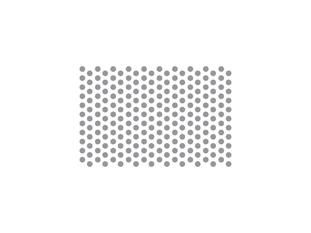Prosypávací šablona - puntíky malé (7 mm)