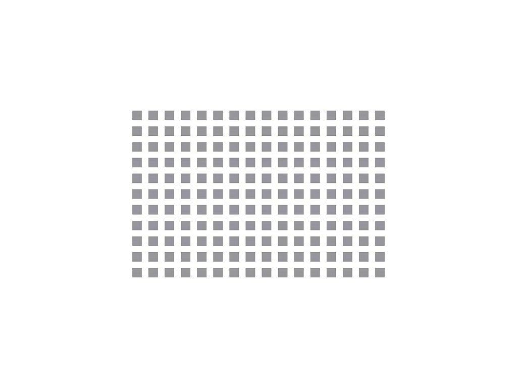 Prosypávací šablona - mřížka