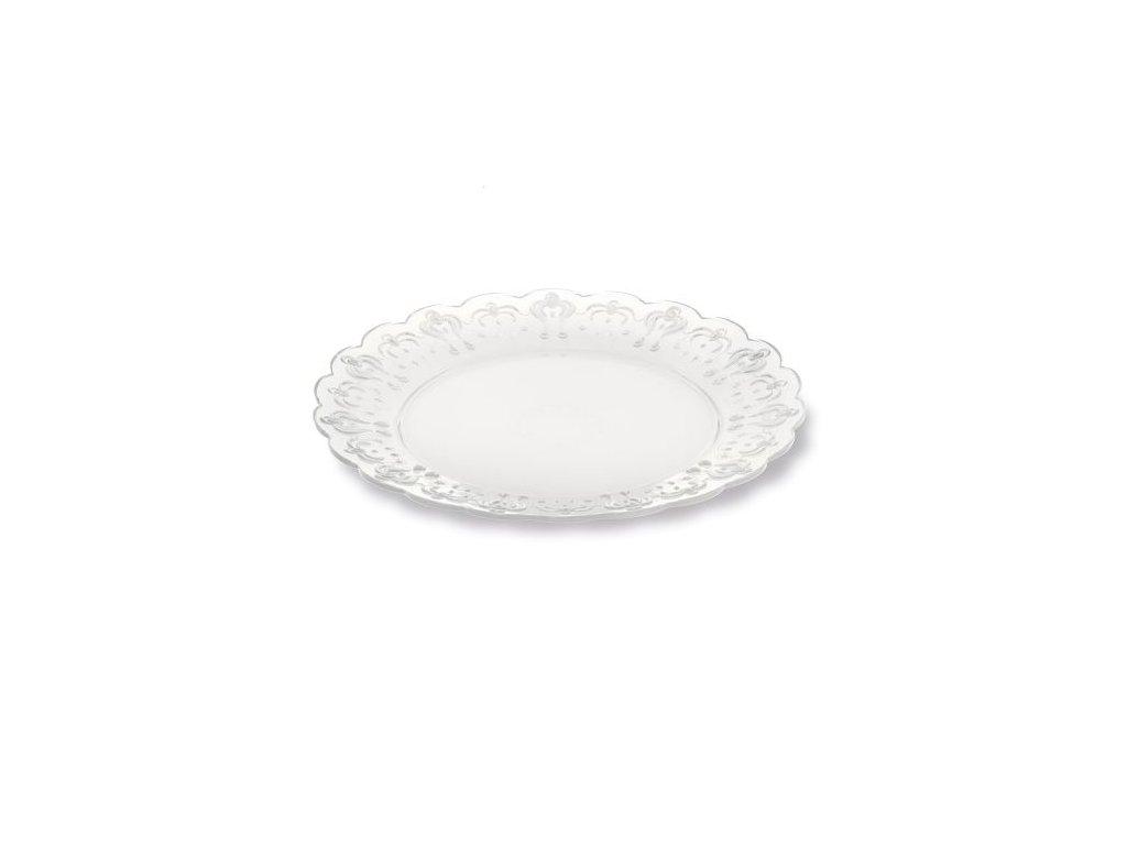 Sada dezertních talířů Pavoni (6 ks) - Průhledné