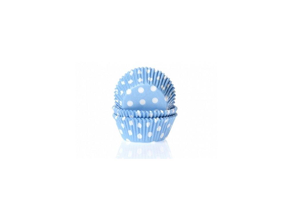 Košíčky Fun Cakes - modré s puntíky