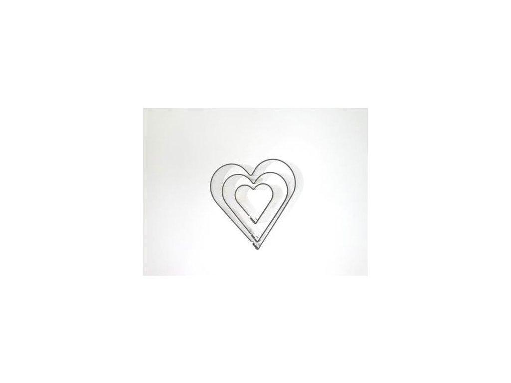 Sada srdce (3 ks)