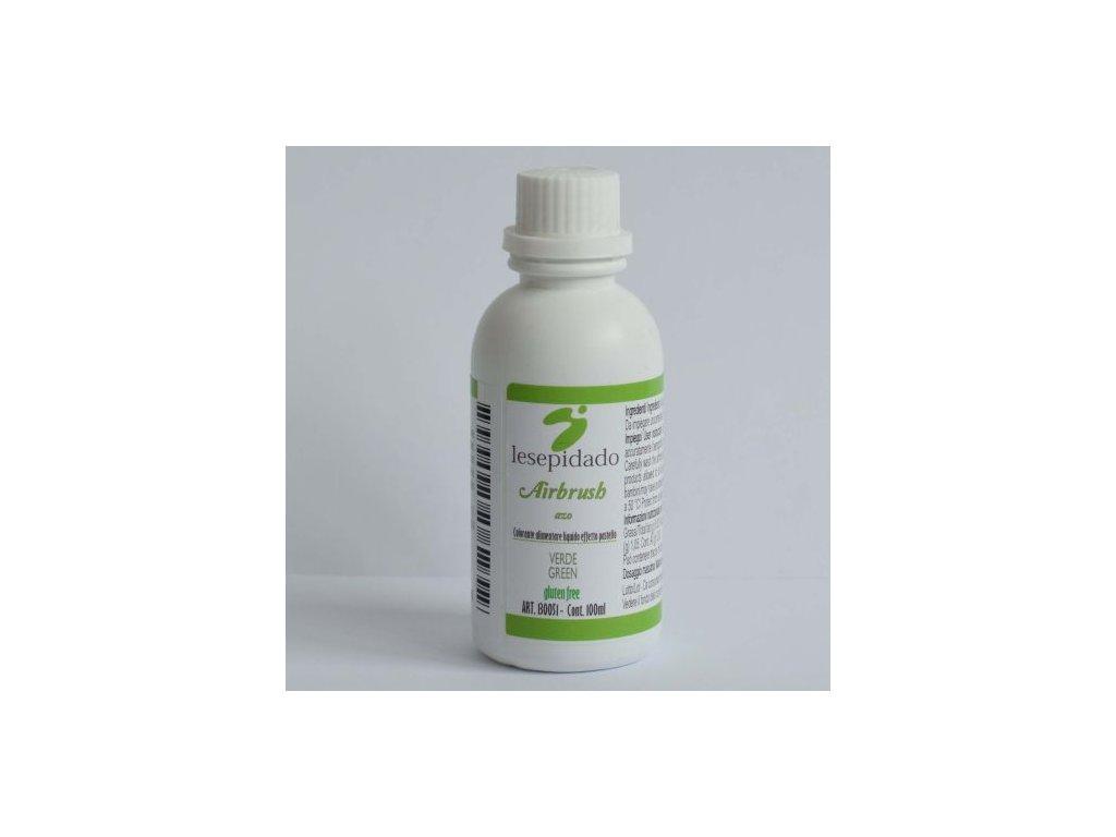 Zelená - airbrush