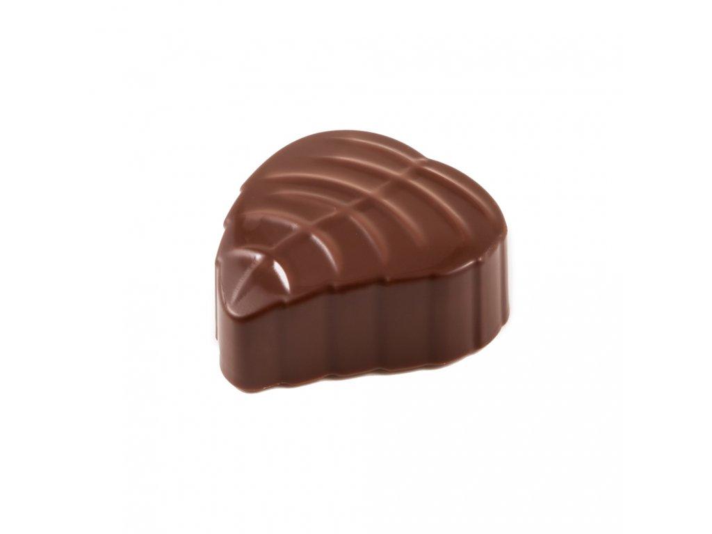 Forma na čokoládu - lísteček
