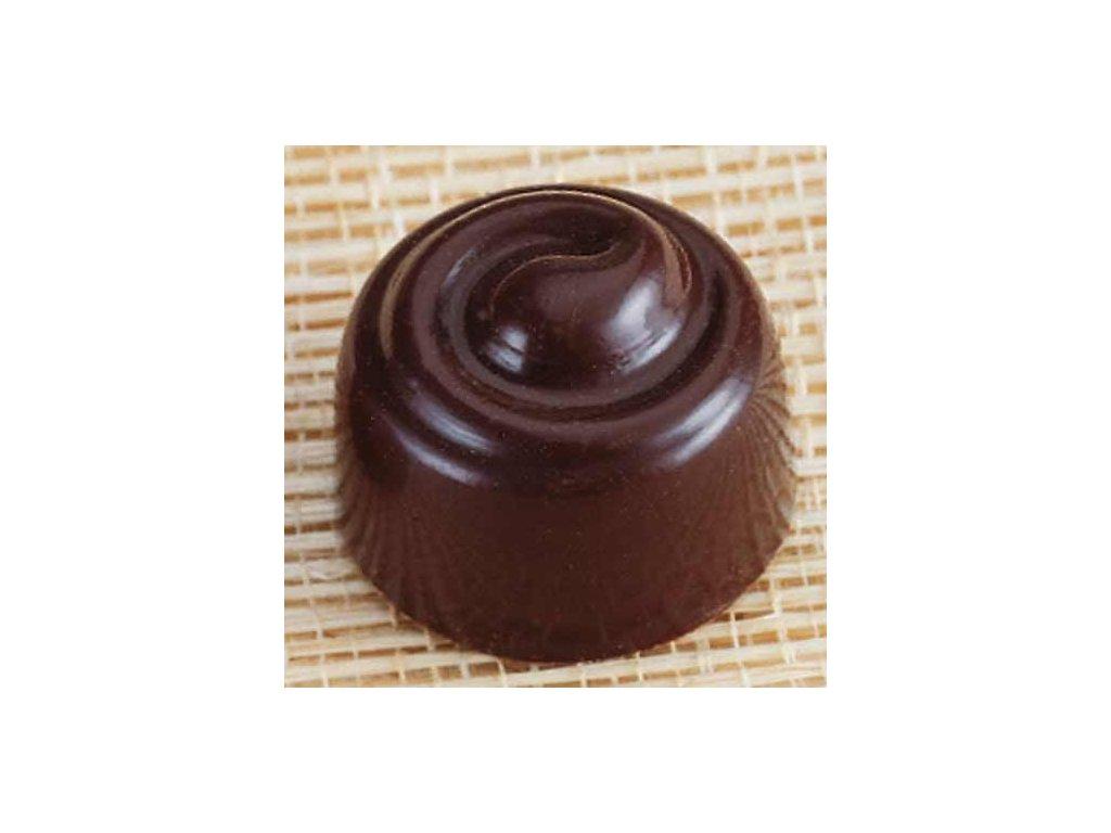 Forma na čokoládu - pralinka se spirálou