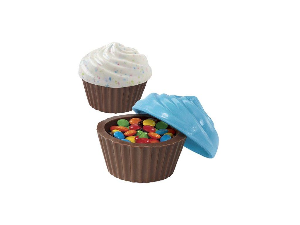 Plastové - Košíčky s čepičkou
