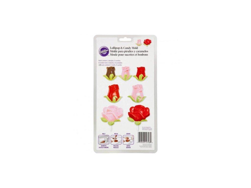 Plastové - Růžičky
