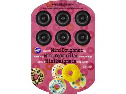 12 x Mini Donut pan