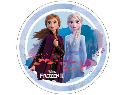 Frozen II - jedlý papír na dort