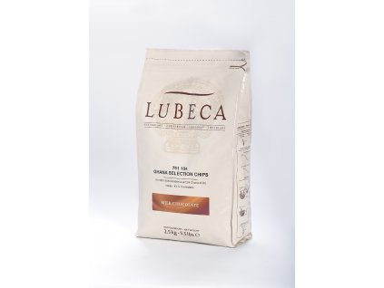 Čokoláda mléčná GHANA -  LUBECA - 43 % - 2,5 kg