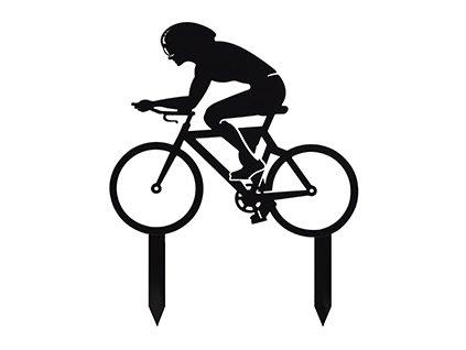 Silueta cyklistka
