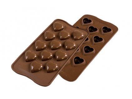 Forma na čokoládu - My love 3D