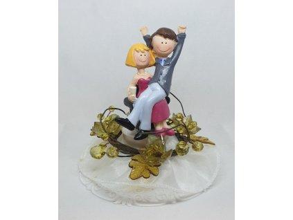 Svatební pár - Radost