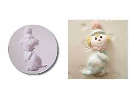 karen davies clown mould 592 p