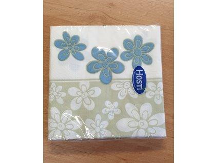 Papírové ubrousky (20 ks) - květinky