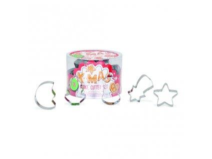 Vykrajovátka -  Vánoční mini sada 18 dílů Patisse