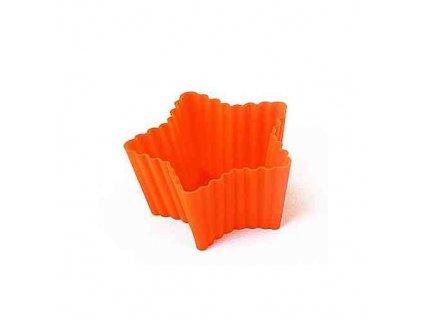Košíčky na muffiny hvězda (6 ks)