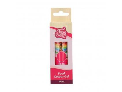 Pink 30 g ( růžová )  - gelová barva FunCakes