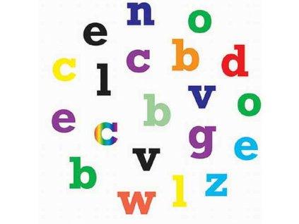 Alphabet lower - Abeceda klasik malá