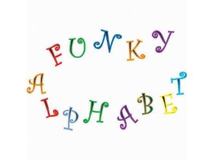 Funky Alphabet & Number - Veselá abeceda a čísla