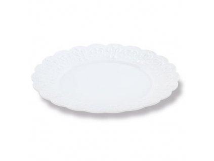 Sada dezertních talířů Pavoni (6 ks) - Bílé
