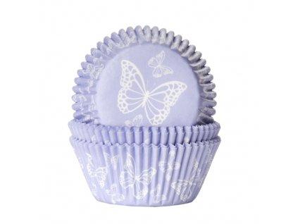 Košíčky Fun Cakes - fialové s motýlky