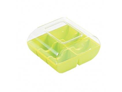 Krabička na makronky (6 ks) - Pistáciová - 90 ks