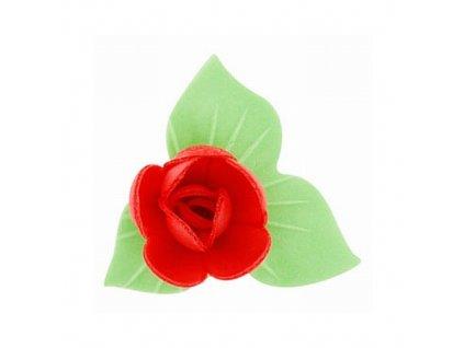 Květ s lístkem červený (180 ks)