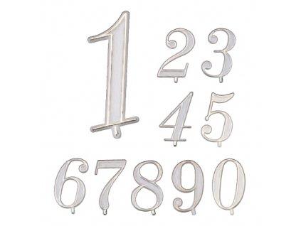 """Plastové dortové číslo """"5"""""""