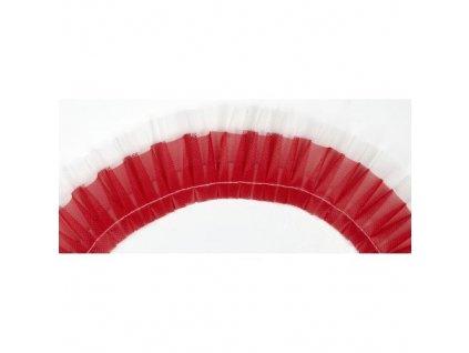 Látková stuha 20 m - Červená