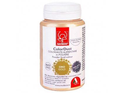 Prachový lesk Modecor 25 g - Gold