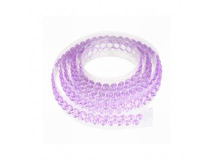 Ozdobný štras - fialový