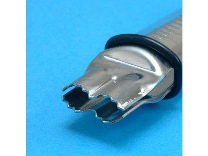 Otevřená mušle 19 mm - VÝPRODEJ