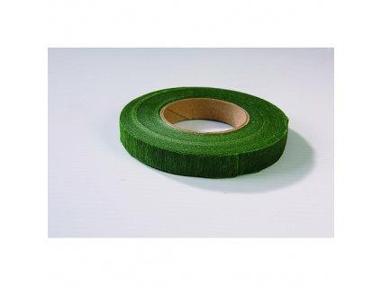 Omotávací páska tmavě zelená (1 ks)