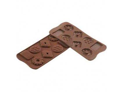 Forma na čokoládu - Biscuits