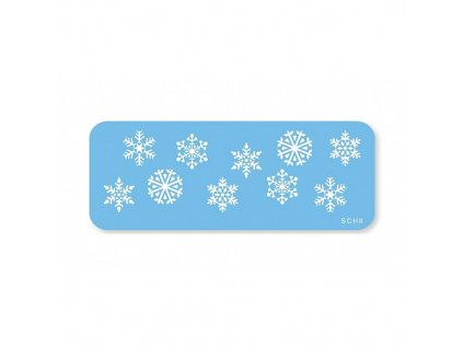 Stencil JEM - Snowflakes
