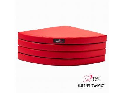 červená, stan, 8 cm