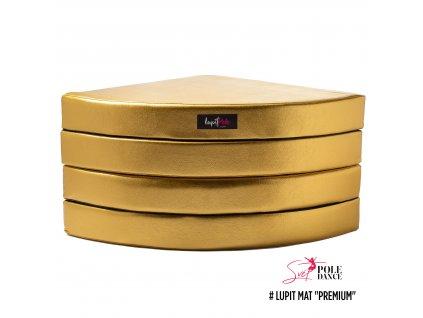 zlatá, premium, 12 cm
