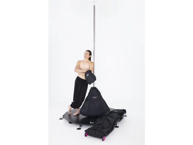 LP STAGE short legs with bags chrom2