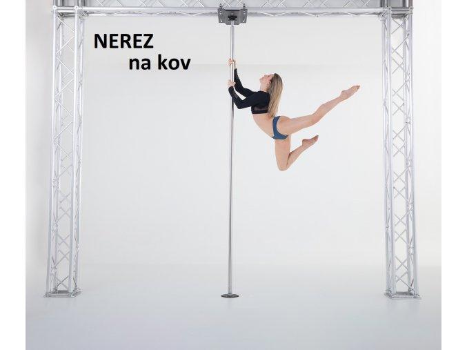 Profesionální taneční tyč Lupit Pole Champion - nerezová ocel - ukotvení na kov